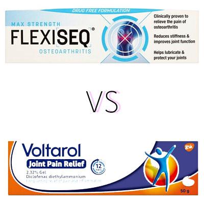 Flexiseq VS Voltarol